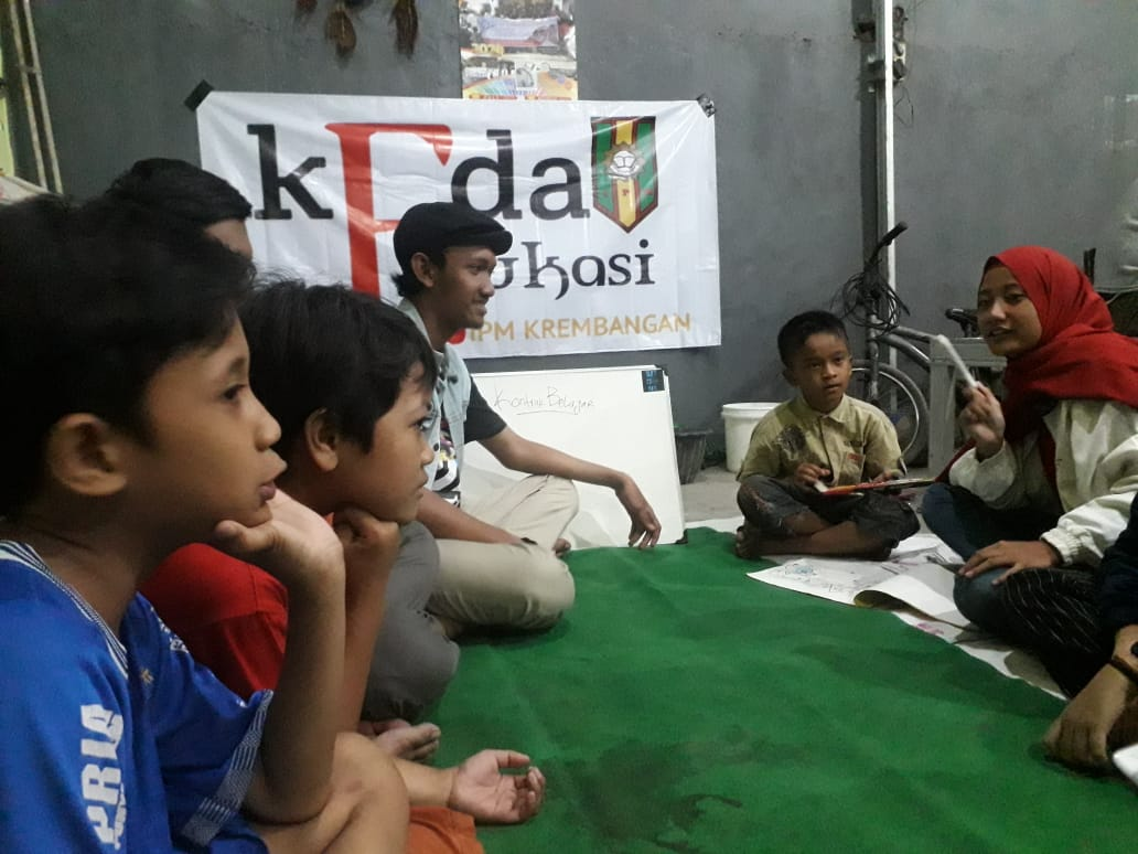 Bantu Anak Putus Sekolah, IPM Krembangan Adakan Kegiatan Kedai Edukasi