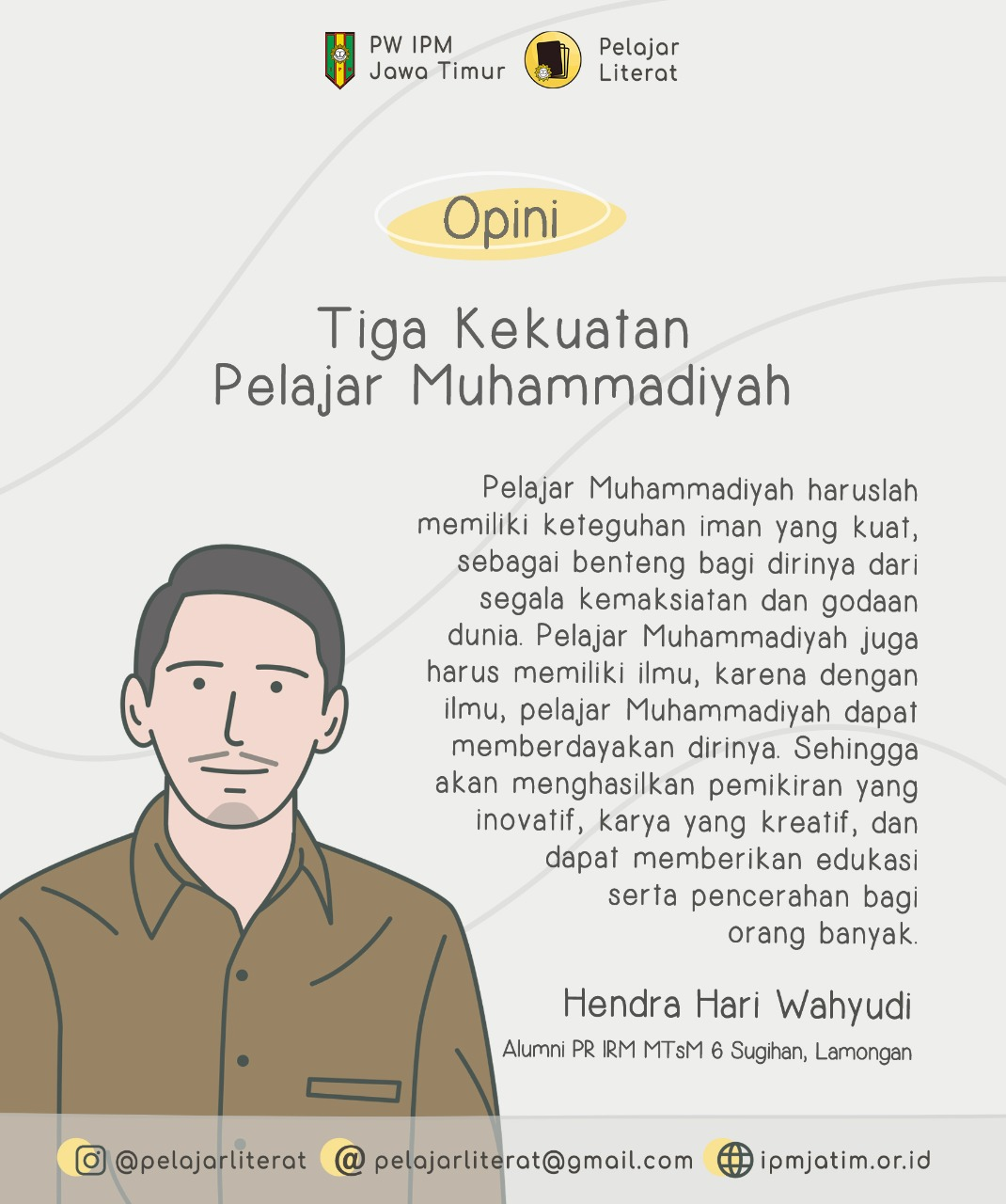 Tiga Kekuatan Pelajar Muhammadiyah