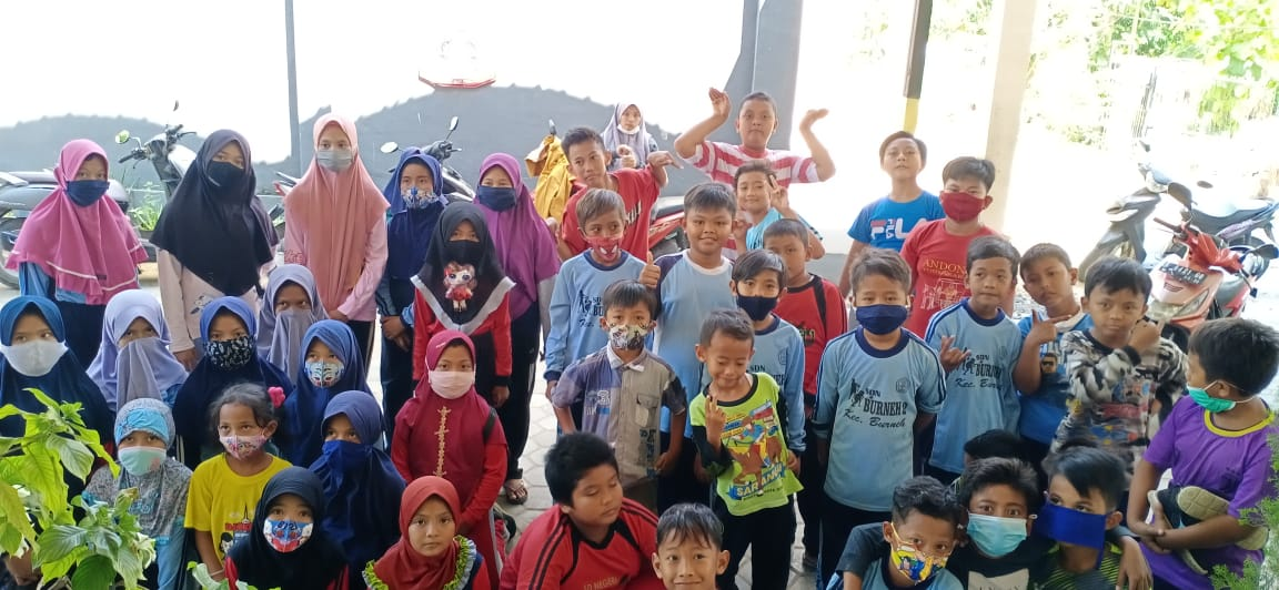Guna Mengkaderisasi dan Memberikan Hiburan, IPM Burneh Adakan Outbond di Sela-sela Pandemi